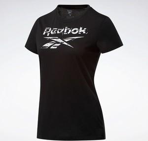 T-shirt Reebok Fitness z bawełny
