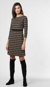 Sukienka More & More mini z żakardu