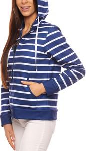Granatowa bluza Grupa Ventus w młodzieżowym stylu z bawełny