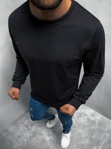 Czarna bluza ozonee.pl w stylu casual