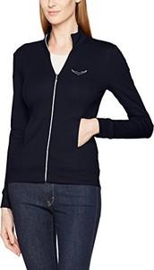 Czarny sweter Trigema
