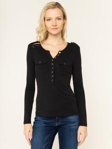 Czarna bluzka Guess w stylu casual