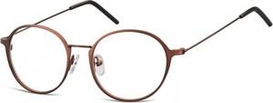 Stylion Lenonki zerowki Oprawki okulary korekcyjne 971C brazowe