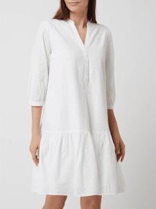 Sukienka Esprit w stylu casual z dekoltem w kształcie litery v z długim rękawem