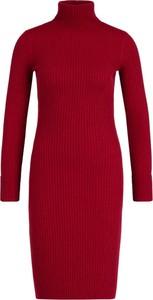 Sukienka Guess z długim rękawem mini z golfem