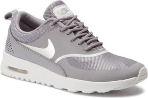 Buty sportowe Nike air max thea z płaską podeszwą sznurowane