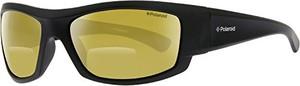 Czarne okulary damskie polaroid