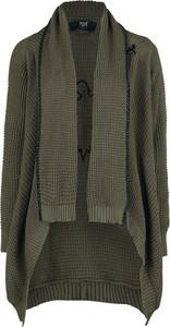 Zielony sweter Black Premium By Emp z bawełny