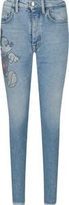 Niebieskie jeansy Liu-Jo