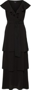 Czarna sukienka Lost Ink maxi