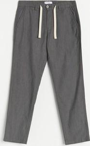 Spodnie Reserved w stylu casual z dresówki