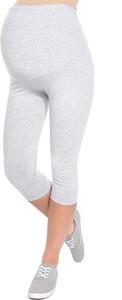 Inne Komfortowe legginsy ciążowe 3/4 melanż
