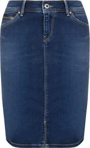 Spódnica Pepe Jeans w street stylu midi
