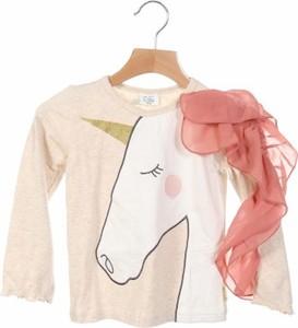 Różowa bluzka dziecięca Hust & Claire