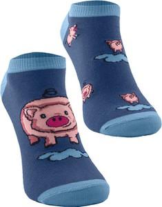Niebieskie skarpety Todo Socks