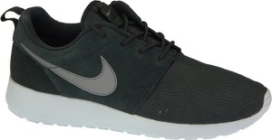Zielone buty sportowe Nike ze skóry roshe