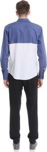 Koszula BLUE EYE POP z długim rękawem z klasycznym kołnierzykiem