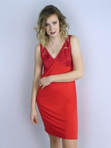 Czerwona piżama Equlik
