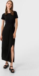 Sukienka Vero Moda maxi z krótkim rękawem