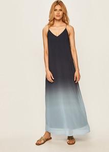 Sukienka Vero Moda prosta na ramiączkach z dekoltem w kształcie litery v