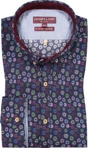 Koszula Colours & Sons z bawełny z długim rękawem z klasycznym kołnierzykiem