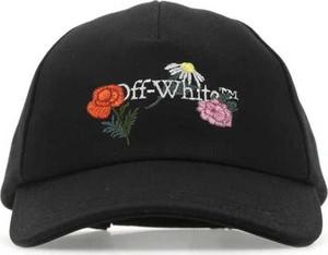 Czarna czapka Off White