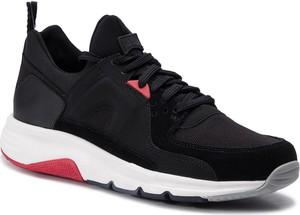 Czarne buty sportowe Camper sznurowane w młodzieżowym stylu