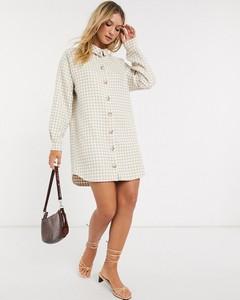 Sukienka Asos z tkaniny mini w stylu casual