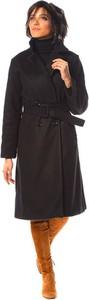 Czarny płaszcz La Fabrique Du Manteau w stylu casual