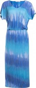 Niebieska sukienka Look made with love