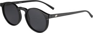 Czarne okulary damskie Le Specs