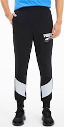Czarne spodnie sportowe Puma z bawełny