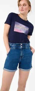 Niebieskie szorty ORSAY z jeansu