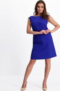 Niebieska sukienka Lavard mini