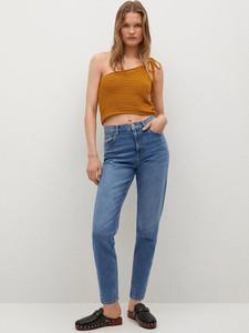 Niebieskie jeansy Mango w stylu casual