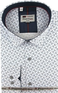 Koszula Redpolo z tkaniny z długim rękawem
