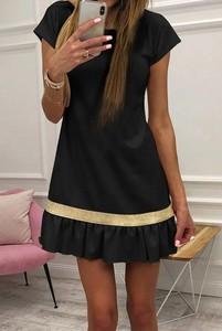 Czarna sukienka IVET mini