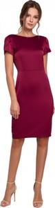 Czerwona sukienka Makover