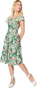 Sukienka Aller Simplement midi z bawełny