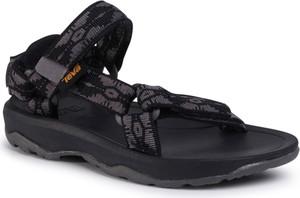 Czarne buty dziecięce letnie Teva na rzepy