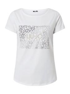 T-shirt Liu-Jo z bawełny z krótkim rękawem