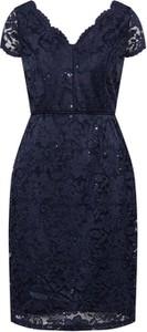 Sukienka Ashley Brooke By Heine ołówkowa z krótkim rękawem
