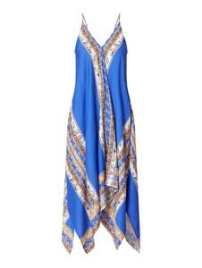Niebieska sukienka Seafolly z jedwabiu
