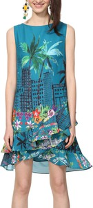 Sukienka Desigual mini trapezowa