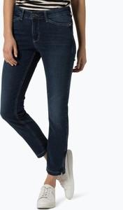Granatowe jeansy MAC w stylu casual