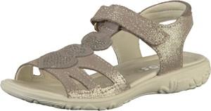 Srebrne buty dziecięce letnie Ricosta