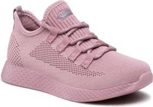 Różowe buty sportowe dziecięce Sprandi dla dziewczynek sznurowane
