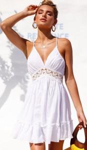 d5b1324da3 biała sukienka z koronką - stylowo i modnie z Allani