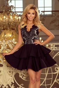 Czarna sukienka NUMOCO mini