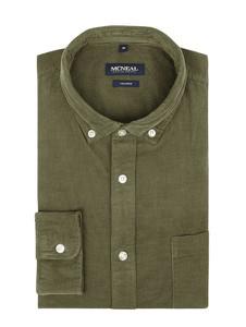 Zielona koszula McNeal z bawełny